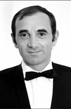 French singer Charles Aznavour - May - October Gemini People, Black And White Man, Nostalgia, Jolie Photo, Music Photo, Vintage Music, Film Music Books, World Music, Famous Celebrities