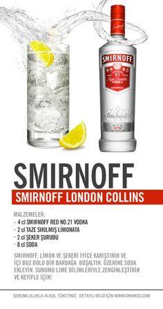 Smirnoff London Collins