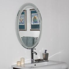 Images Photos Decor Wonderland SSM Grand Street Modern Bathroom Mirror Bathroom remodel Pinterest Modern Modern bathrooms and Decor