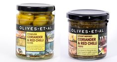 The new Coriander & Chilli Olives combine Amphissa pitted green olives with extra virgin olive oil infused with hot red chillies crushed with garlic, herbs and spices.