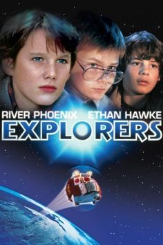 Explorers (1985) with Ethan Hawke, River Phoenix, directed by Joe Dante. Great movie (the end not so much unfortunately...)