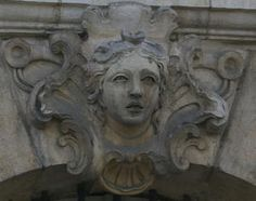 mascaron. Bordeaux