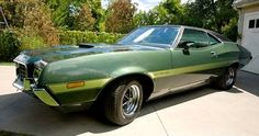 1972 Ford Gran Torino from the Clint Eastwood movie Gran Torino.