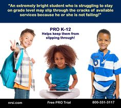 Sign up for your FREE Trial of PRO today!  Let's turn them all into POWERFUL readers!!! Learn more at www.nrsi.com.