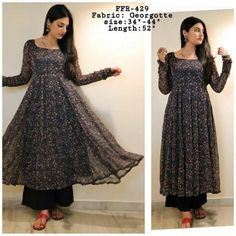 Indian Gowns Dresses, Indian Fashion Dresses, Dress Indian Style, Indian Designer Outfits, Muslim Fashion, Pakistani Dresses, Indian Wear, Fashion Outfits, Simple Kurta Designs