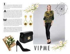 """VIPME .COM17"" by dandi-gramov ❤ liked on Polyvore featuring Gianvito Rossi, Cyan Design, women's clothing, women, female, woman, misses, juniors and vipme"