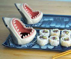 Shark Sushi Plate | DudeIWantThat.com
