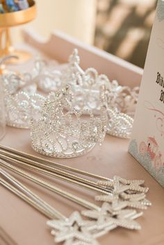 """Photo 18 of Cinderella Party / Birthday """"Gianna's Cinderella Bash"""" Baby Girl Birthday, Boy Birthday Parties, Birthday Party Decorations, Birthday Ideas, Birthday Wishes, Birthday Table, 3rd Birthday, Birthday Crowns, Decoration Party"""