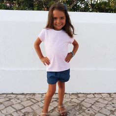 The Ana Tee & Dress sewing pattern from SUCO by Susana has just been released! It comes with cap, short and long sleeve options, in a wide size range, and is perfect to fit your girl's wa… Knit Patterns, Sewing Patterns, Tee Dress, Your Girl, Rib Knit, T Shirts For Women, Dress Sewing, Tees, Long Sleeve