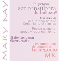 Decide por qué? Comunicate conmigo, y si estas en otro estado tambien te puedo ayudarla. www.marykay.com/carmencusmano 732-684-7486