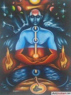 Pouvoir spirituel - Art indien