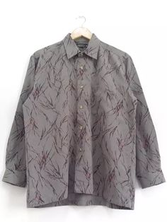 b3090e654cef Starcut Club Novelty Roots Paint Splatter Oxford Psychedelic Full Pop Art  Abstract Impressions Casual Buttons Up Shirt Long Sleeve Size Large