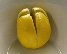 Разрежьте лимон и оставьте его в спальне. Возможно, это спасет Вашу жизнь!