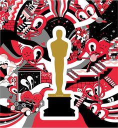 Oscars Art Series: Artists Create Posters For The 87th Academy Awards.   http://www.ifitshipitshere.com/oscars-art-series-artists-create-posters-87th-academy-awards/