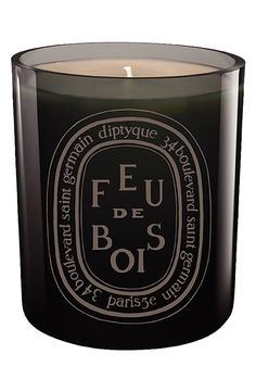 Diptyque 'Feu de Bois' Candle - smells like a burning fireplace