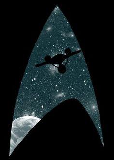 Star Trek inspired t-shirt The Final Frontier by Li. Star Trek Tattoo, Star Trek Wallpaper, Star Trek Characters, Star Trek Movies, Star Wars, Star Trek Tos, Star Trek Enterprise, Akira, Cosmos