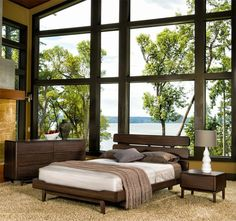 Bring Nature Indoors With Bamboo Furniture From Eco Friendly Digs Queen Platform Bed Bedroom Black