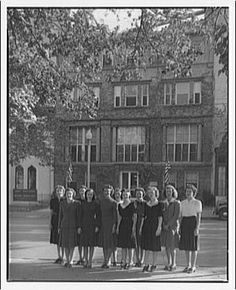 Vintage College Photos