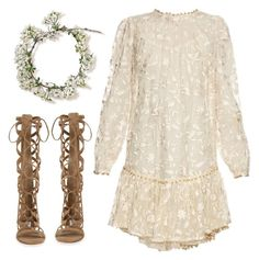 """""""Music in the Gorge"""" by cb-hula ❤ liked on Polyvore featuring Zimmermann and Steve Madden"""