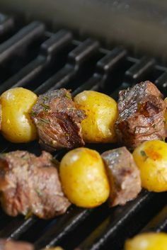 Steak and Potatoes Kabobs:  Your favorite dinner, perfectly transformed for hot summer nights!