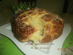 ΠΛΑΘΩ ΖΥΜΑΡΑΚΙΑ ΜΕ ΤΑ ΔΥΟ ΧΕΡΑΚΙΑ ..: ΠΑΣΧΑΛΙΝΟ ΤΣΟΥΡΕΚΙ ΜΕ ΚΕΦΙΡ Bread, Food, Brot, Essen, Baking, Meals, Breads, Buns, Yemek