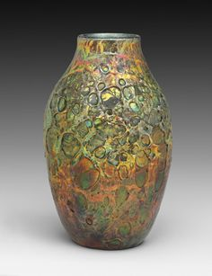 Cypriote Vase Louis Comfort Tiffany Made by the Tiffany Glass and Decorating Company c. 1900