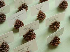Soportes para tarjeta de piña en Decoración y detalles en bodas y enlaces en exteriores e interiores