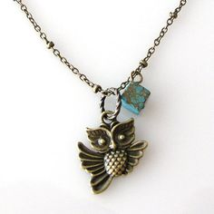I don't really care too much for the new owl craze, but this is cute!