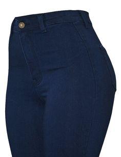 Cielo High-Waisted Super Stretch Skinny Jeans Medium Blue Wash J24 - 12 Pcs