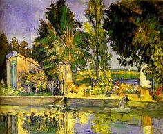 Cezanne, Paul (1839-1906) - 1876 The Pool