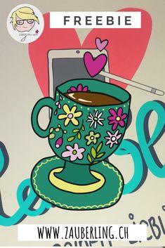 Probiere das Herzblut Freebie mit Adobe Draw aus. Blog, Accessories, Heart, Photo Illustration, Blogging