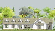 The dream....Somerset Unique Ranch House Plan - open floor plan, main floor master suite