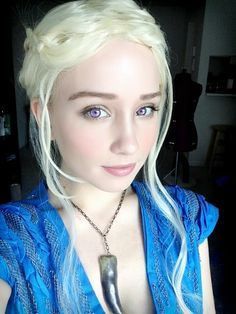 Daenerys cosplay game of thrones for Daenerys targaryen costume tutorial