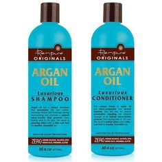 Renpure Argan Oil Luxurious Shampoo and Conditioner ($5 each)