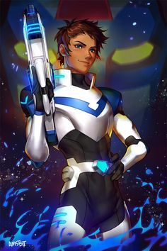 Lance the Blue Paladin of the Blue Lion from Voltron Legendary Defender
