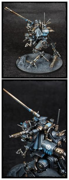 Achlys Ii, Adeptus Mechanicus, Admech, Ironstrider, Skitarii, Sydonian Dragoon, Warhammer 40,000 - Sydonian Dragoon 2 - Gallery - DakkaDakka | Wargamers do it on the tabletop.
