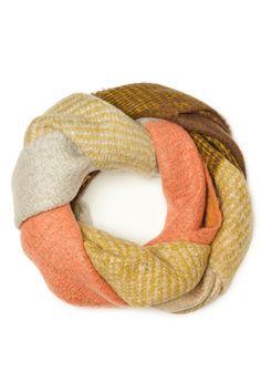 ShopSosie Style : Cozy Wool Scarf in Pink Haze