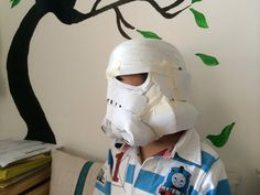 Stormtrooper helmet -- WIP