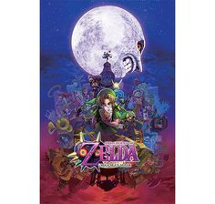 The Legend of Zelda Poster Majora's Mask. Hier bei www.closeup.de
