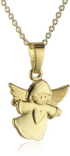 Bild Xaana Damen-Anhänger Engel mit Herz…
