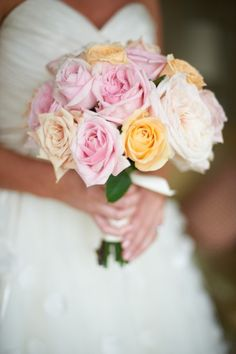 Rose bouquet: http://www.stylemepretty.com/georgia-weddings/atlanta/2013/10/28/buckhead-wedding-at-the-ritz-carlton-from-engaging-events-kristin-leigh/ | Photography: Kristin Leigh - http://kristinleighphotography.com/