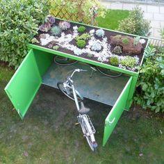 #Fahrradbox - Die Lösung für #Fahrradfreunde und #Radprofis. Verstauen Sie Ihre Fahrräder direkt vor dem Haus in unseren praktischen Fahrradboxen. Kein lästiges Schleppen in den Keller mehr oder vorsichtig am Auto vorbeischieben in die Garage. Vor Verwitterung und Diebstahl sind die Räder ebenfalls geschützt.