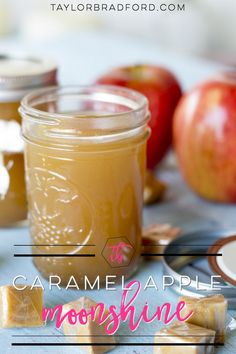 If you love Caramel Apples and you are a fan of cocktails, then this Caramel Apple Moonshine recipe is definitely a MUST TRY! If you love Caramel Apples and you are a fan of cocktails, then this Caramel Apple Moonshine recipe is definitely a MUST TRY! Homemade Alcohol, Homemade Liquor, Liquor Drinks, Cocktail Drinks, Alcoholic Beverages, Bourbon Drinks, Craft Cocktails, Alcoholic Shots, Whiskey Cocktails