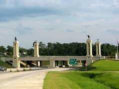 Fort Benning, GA; Bridge on US27 over I-165 - View that greeted us Sept 2013
