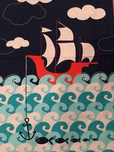 pirate fabric panel