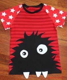 Monster Shirt Gr. 128