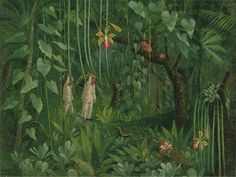 """Orchid Hunters in Brazil"" by Tirzah Ravilious née Garwood, 1950"