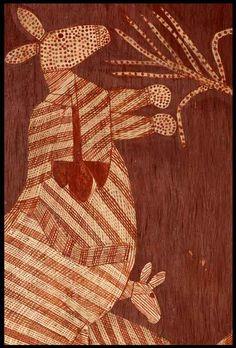 Gunwinggu Bark Painting (photographed by Paul Lewis)