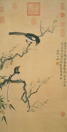 Two Magpies by Ma Yuan