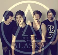 Oceans Ate alaska I am now in love with another band:) Mike Stanton, James Harrison, Pop Punk, Music Bands, Music Is Life, Cool Bands, Good Music, Alaska, Musicals